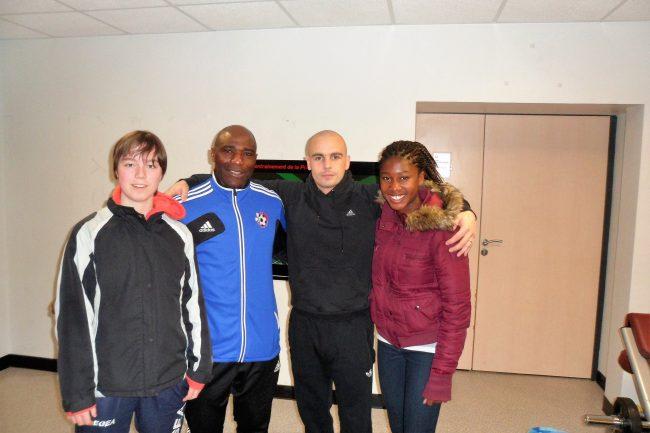 coach etienne bebi siguile - soccer montréal Coach Etienne Bebi Siguile – Soccer Montréal stage Lemans france Avril 2013 0345801 650x433